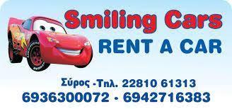 ΕΝΟΙΚΙΑΣΕΙΣ ΑΥΤΟΚΙΝΗΤΩΝ SMILING CARS ΒΑΡΗ ΣΥΡΟΣ ΓΕΡΑΣΙΜΟΥ ΑΙΚΑΤΕΡΙΝΗ-ΚΑΠΕΛΑ ΜΑΡΙΑ ΟΕ